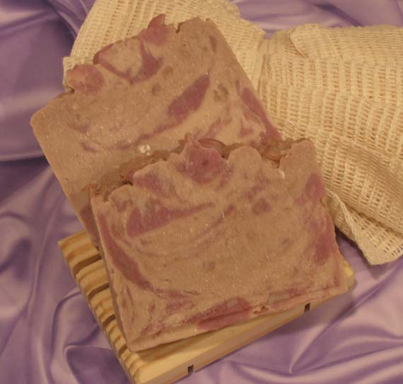 White Chocolate and Lavender Hand Milled Soap Bar