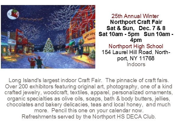 25th Annual Winter Northport Craft Fair