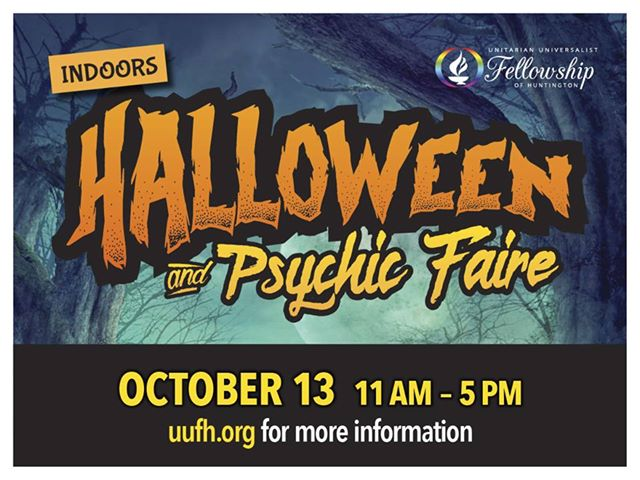 Halloween and Psychic Faire