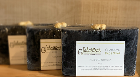 Handmade Soap - Activated Charcoal Facial Soap