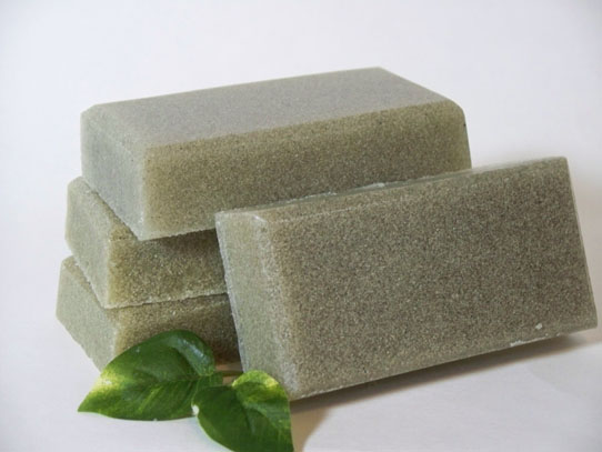 Handmade Soap - Fancy Feet Pumice Soap Bar