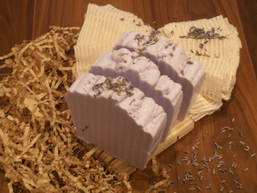 Handmade Soap - Lavender & Herb Whipped Soap Bar